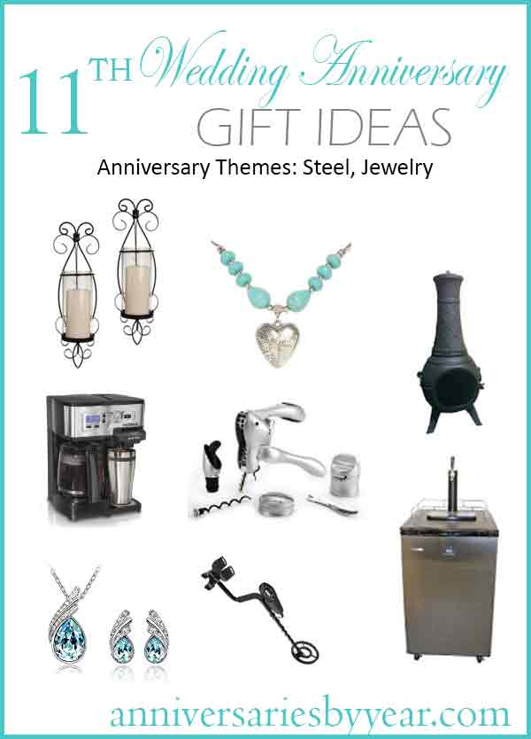 Eleventh anniversary 11th wedding anniversary gift ideas for 11th wedding anniversary gift