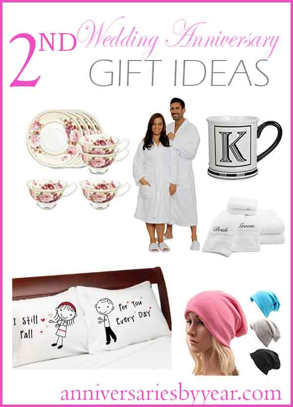 2nd Anniversary Second Wedding Anniversary Gift Ideas