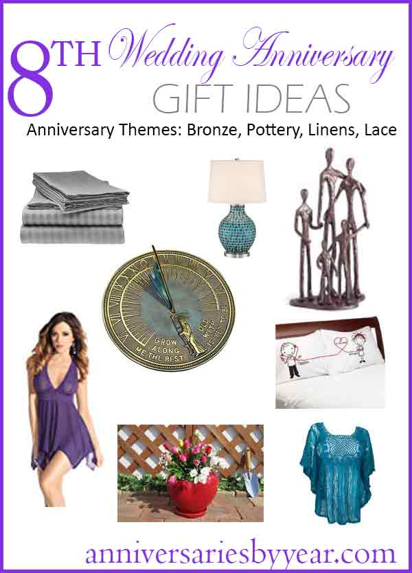 Wedding Gifts For 8 Year Anniversary : Eight Anniversary - 8th Wedding Anniversary Gift Ideas