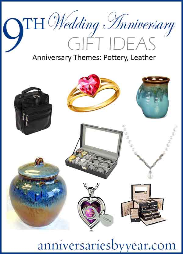 0727a011cfb2 9 Year Anniversary. Twitter Facebook Google+ Pinterest 9th Anniversary Gift  Ideas